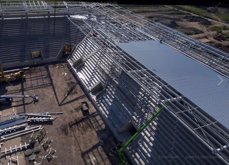 Szerkezetkész a Diósgyőr új stadionja!