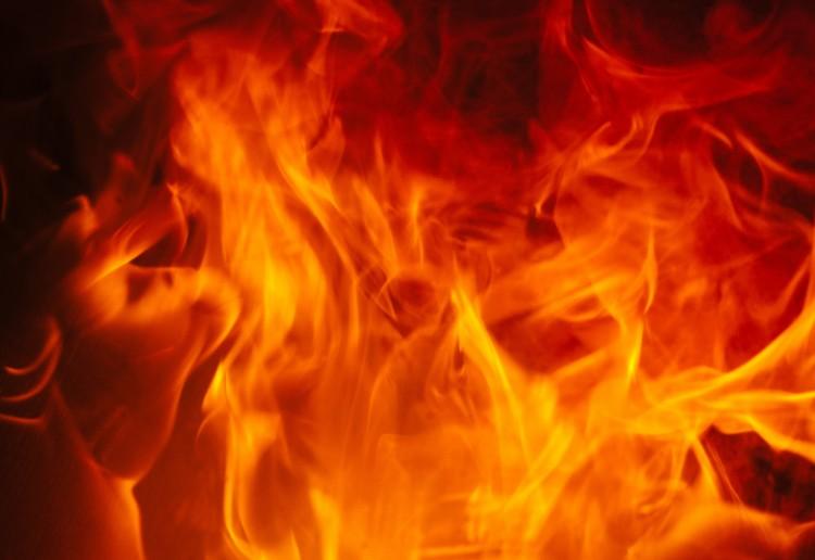 Lángokban állt az épület Igriciben