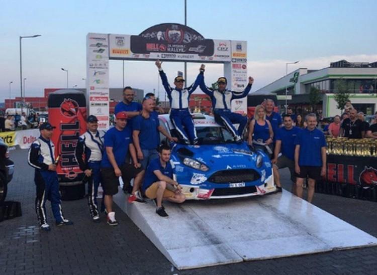 Miskolc-rali: a Ford Fiesta R5 megállíthatatlan