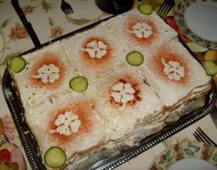 Receptmustra a Cívishírrel: tószt torta