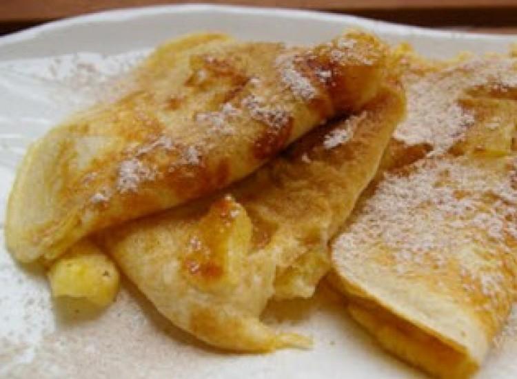 Receptmustra a Cívishírrel: reszelt almás palacsinta