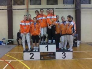 A fehér sportban Debrecen a vidék ura