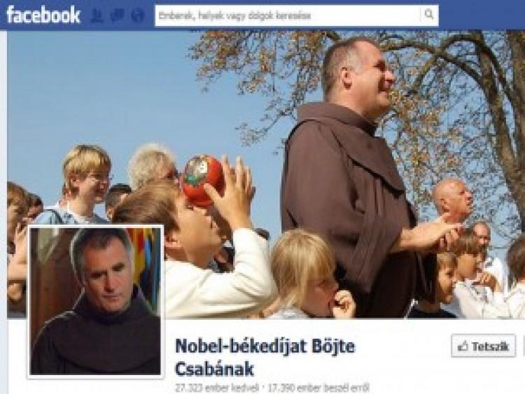 Böjte Csaba, a Facebook-sztár