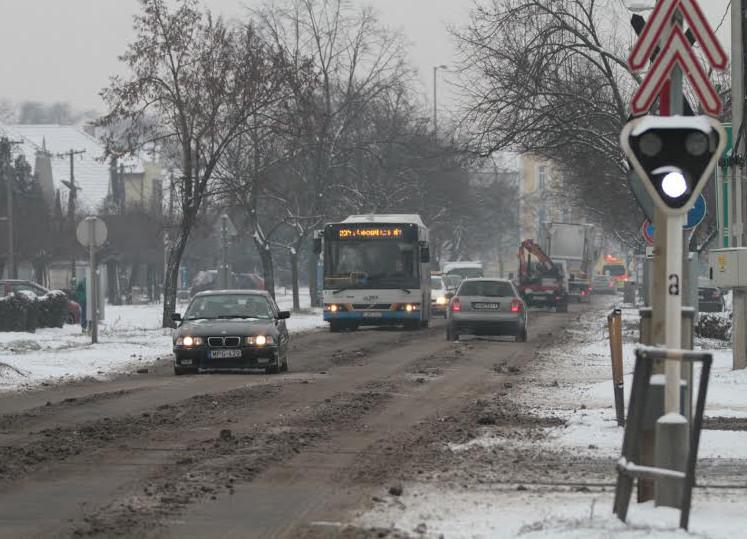 Debrecen a jég fogságába kerül
