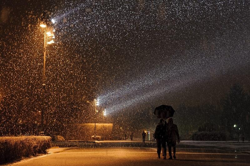 Ki hinné, hogy pénteken így esett a hó?