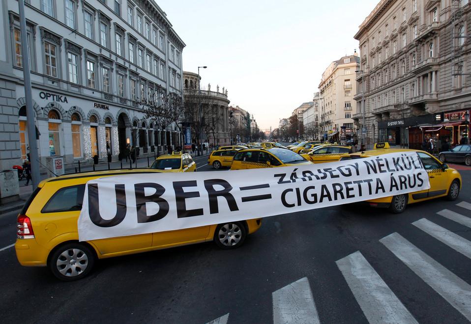 A lázadó taxisoknak ezt üzeni a nép!