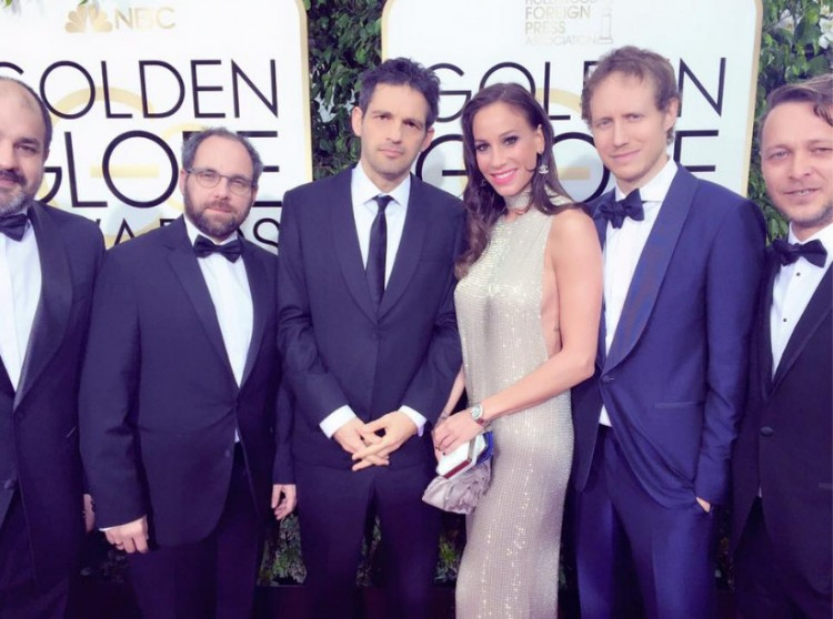 Vajna Tímea a Golden Globe-gálán - mint jól házasodó