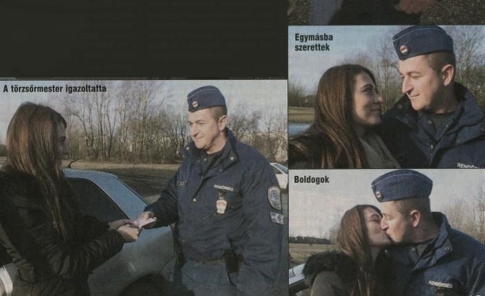 Az év sztorija! Megbüntette a rendőr, majd beleszeretett