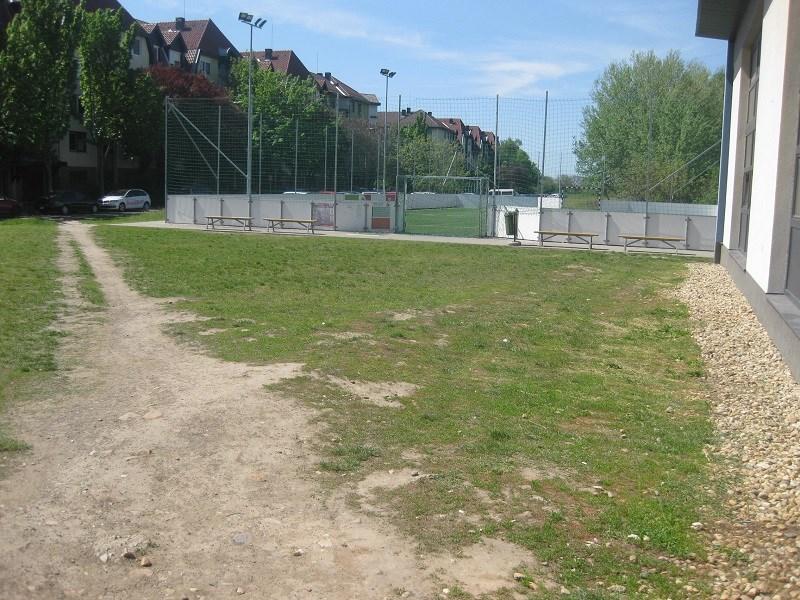 Európai sportcentrum - bokatörő környezet
