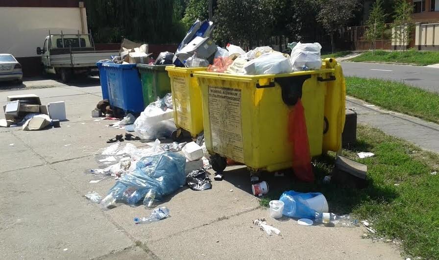 Szeméthegy Debrecenben - nem a migránsok műve!