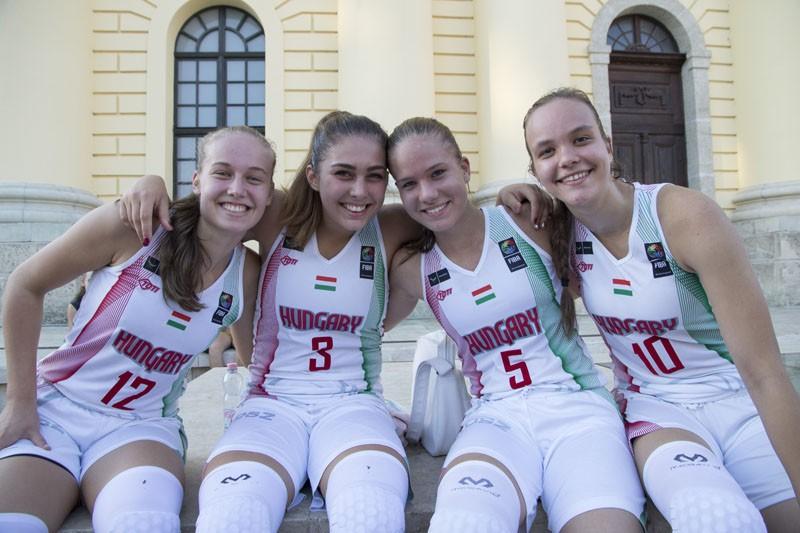 A magyar lányok parádéztak pénteken Debrecenben