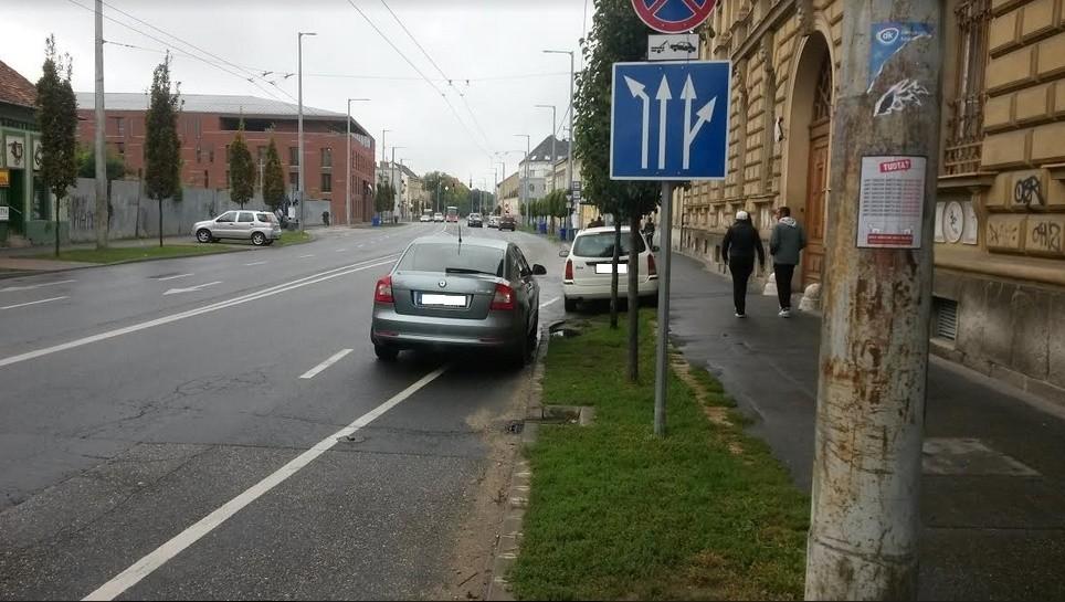Debrecenben még az ügyészségen is van parkolóbajnok - Fotók