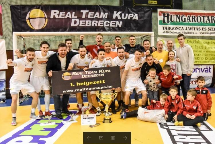 Címvédés a Real Team-kupán: a debrecenieknek nem osztottak lapot