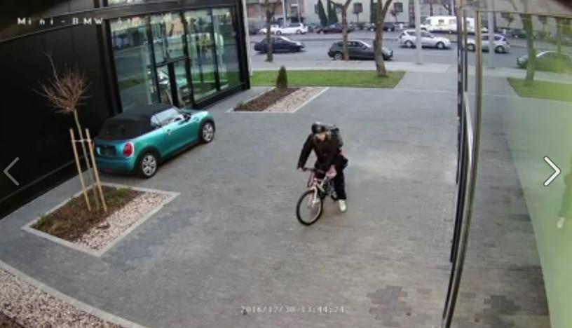 Így loptak el egy egymillió forintos kerékpárt - videó!