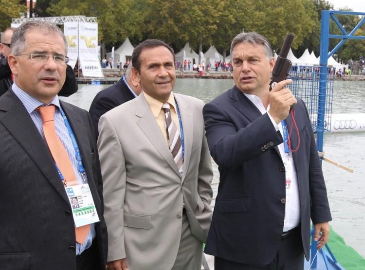 Orbán Viktor nagyra értékeli Gyárfás Tamást