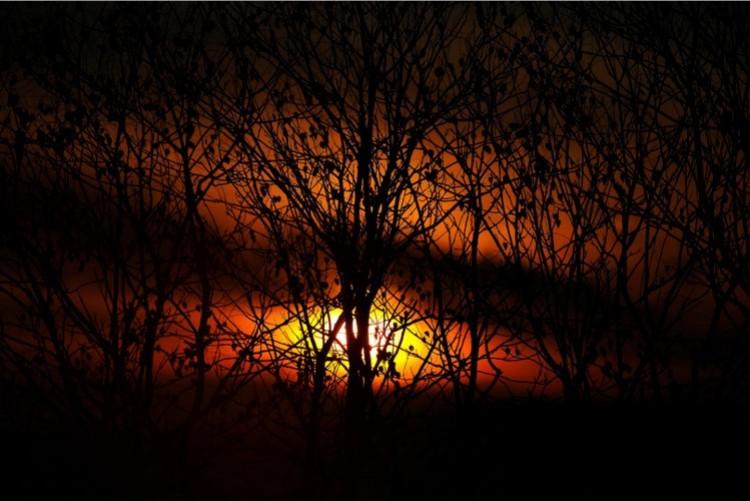 Lenyűgöző képeken a hajdú-bihari napfelkelte