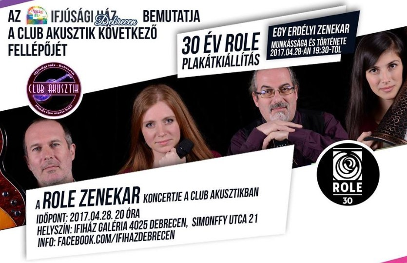 Debrecenben koncertezik Erdély legsikeresebb magyar zenekara