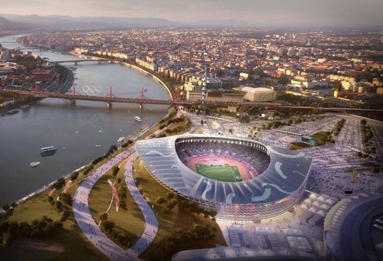 Épül az olimpiai stadion Budapesten!