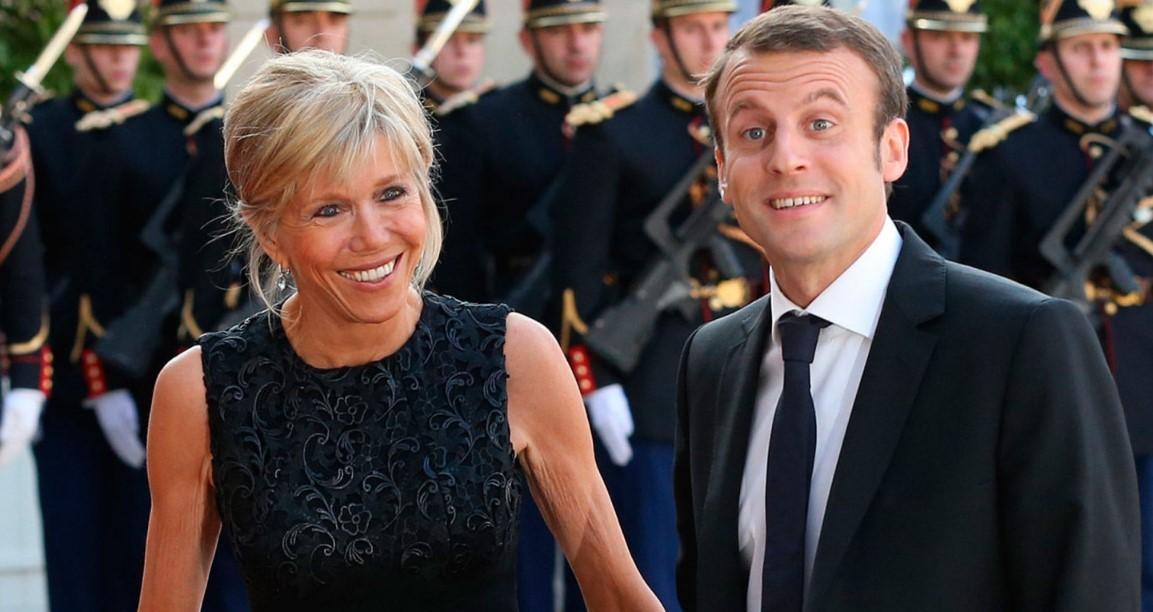 A francia elnök feleségén csámcsog a nép. Van miért...