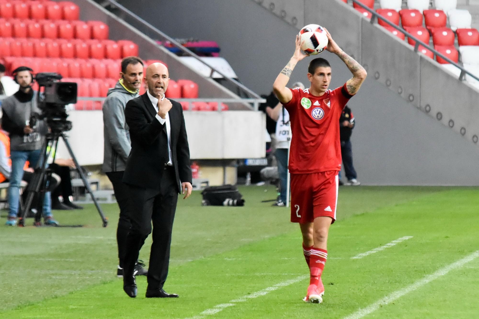 Így látta Pontes az Újpest elleni meccset +videó