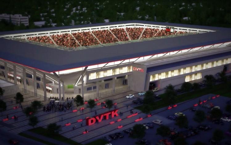 Jól áll a nagy rivális stadionjának építése