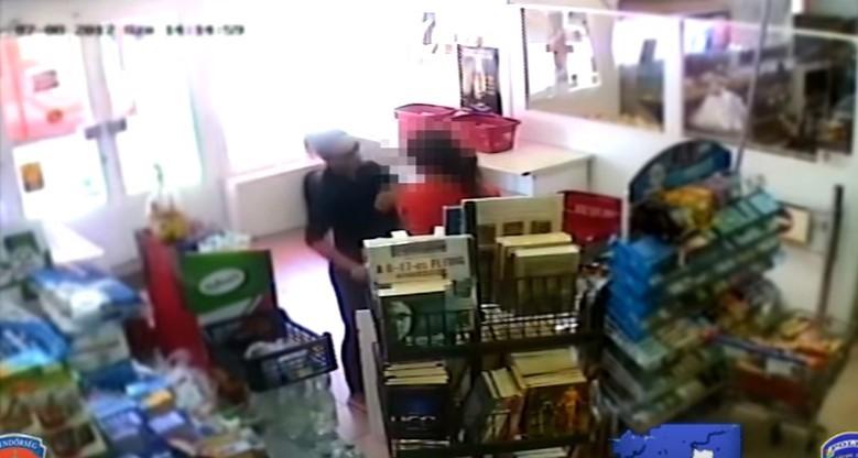 Videó: egy nő akarta kirabolni a debreceni boltot