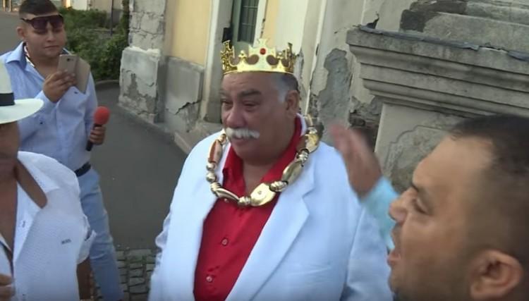 Magyarország új cigánykirálya megkezdte uralkodását