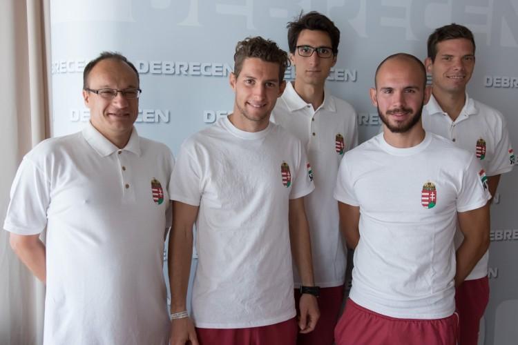 Nagy dolgokra készül öt debreceni sportoló