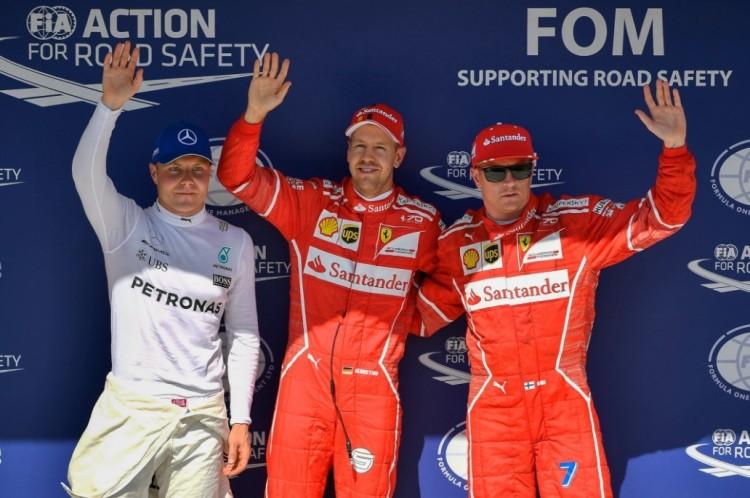 Magyarország: a Ferrari lenyomta a Mercedest