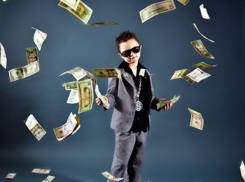 Gyerekek egyetlen céllal: sok pénzt akarok keresni