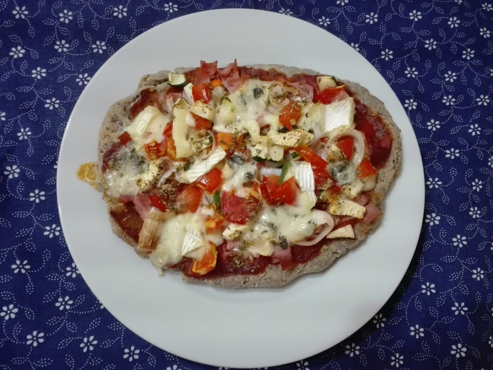 Recept: gluténmentes pizza