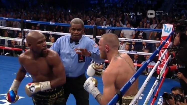Mayweather felőrölte McGregort
