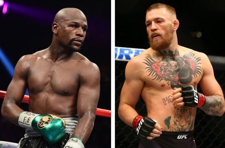 Látva McGregor szintjét, Mayweather bekötött szemmel is megveri
