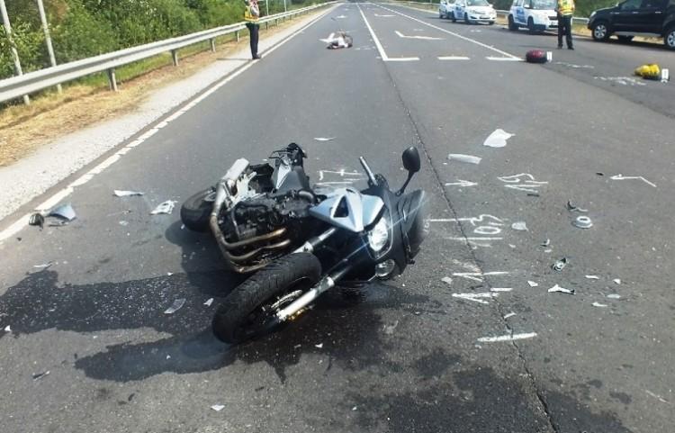 Nem vette észre a motorost, csúnya baleset lett a vége