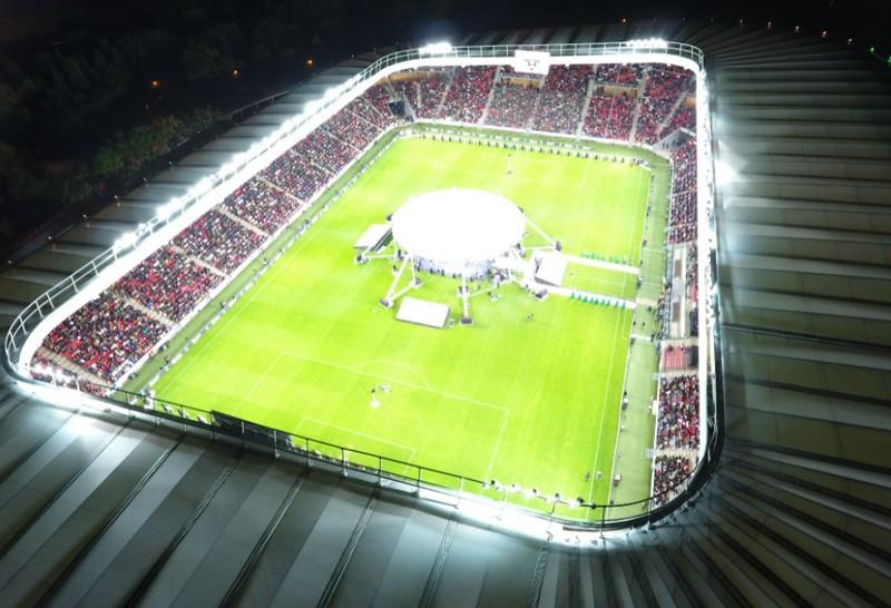 Húszezren buliztak a Nagyerdei Stadionban