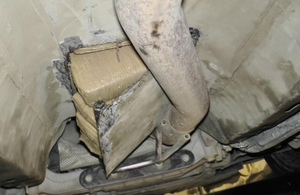 Rekord mennyiségű heroint foglaltak le a határon