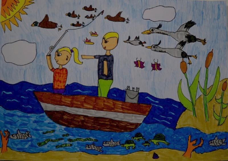 Kis horgászok nagy élménye Debrecenben