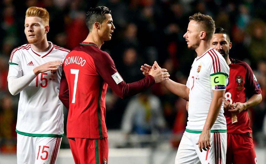 Leb...zizták Ronaldót a magyarok, büntetett a FIFA