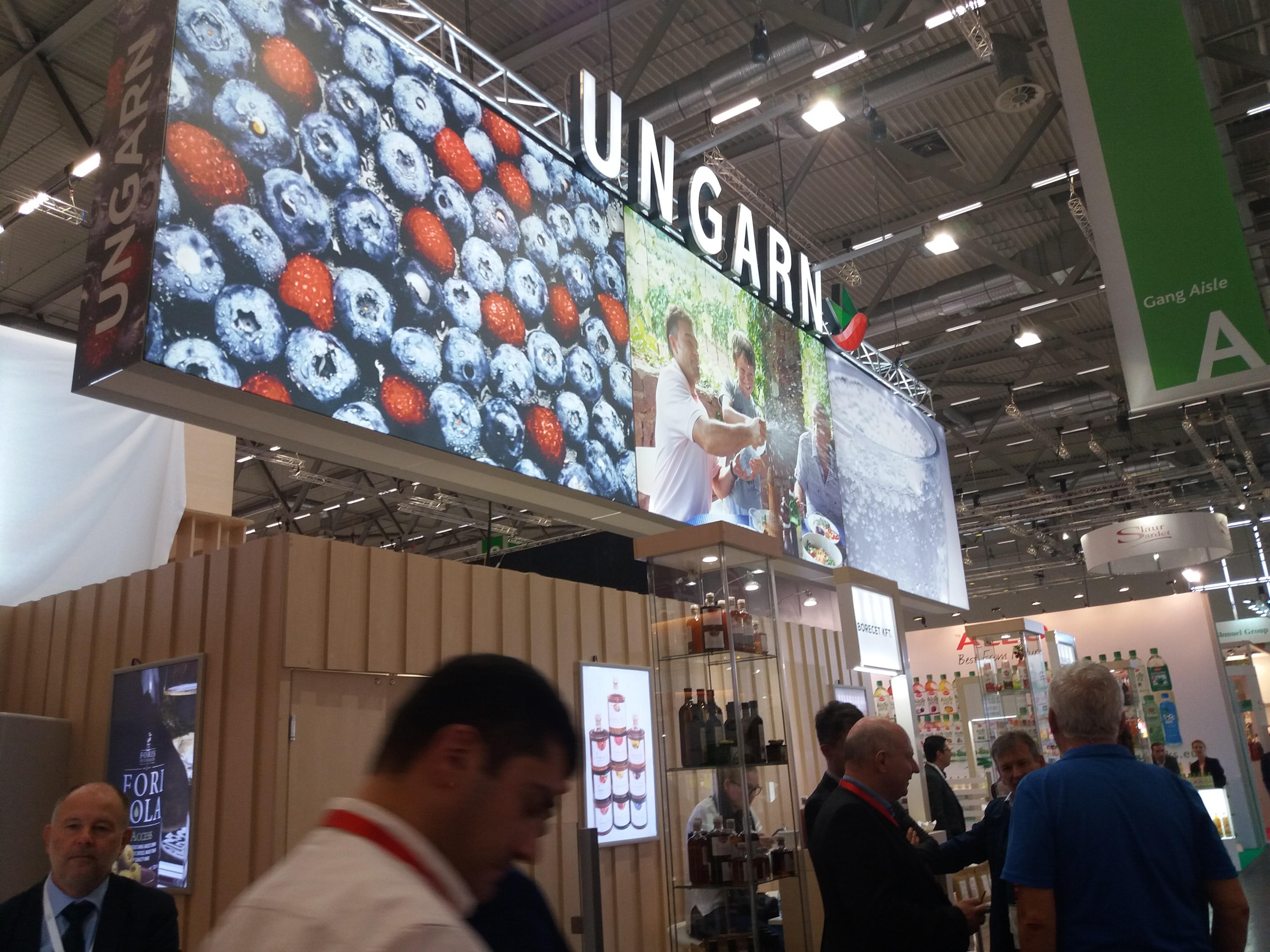 Hódítottak a magyar termékek Kölnben