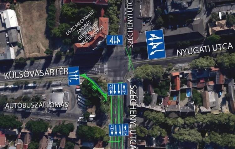 Vigyázat! Már a Széchenyi utca sem a régi!