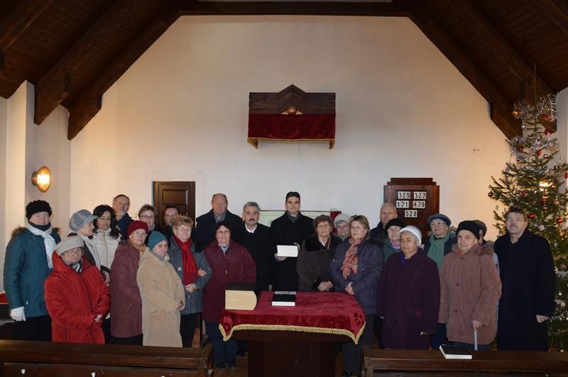 A vándorbiblia visszatér Debrecenbe