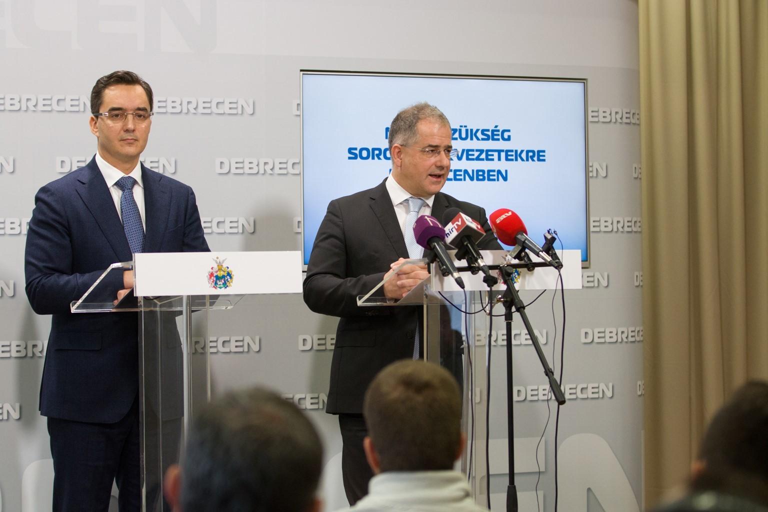 Papp László: Debrecenben nincs szükség álcivil szervezetre