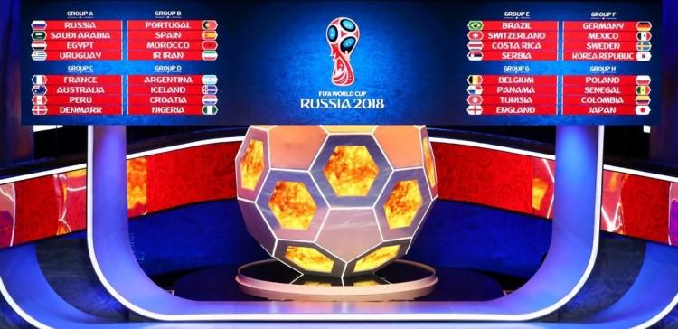 Itt a foci-vb csoportbeosztása!