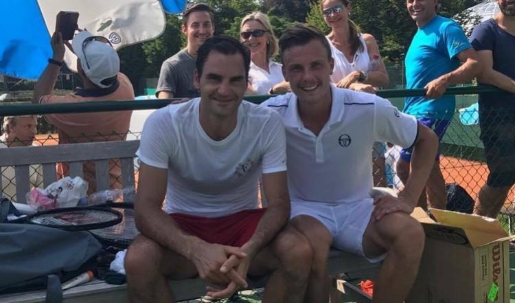 Fucsovics vs. Federer - hétfőn korán kel az ország