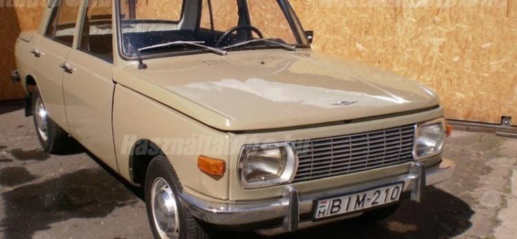Nézze ezt a kelet-német autót!