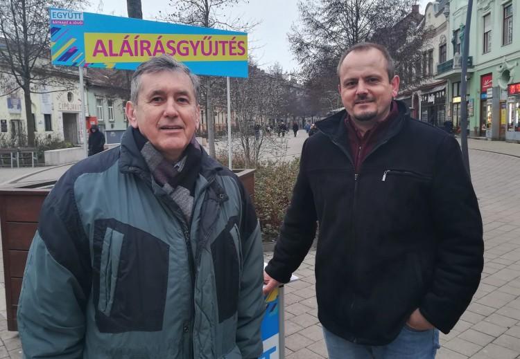 Debrecenben az Együtt valójában külön