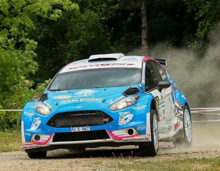 Ford Fiesta nyert az Eger-ralin