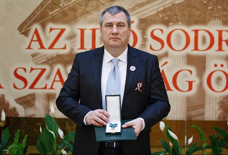 Nagy elismerésben részesült Hajdúböszörmény polgármestere