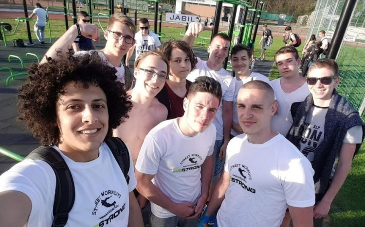 Új őrület Debrecenben: street workout