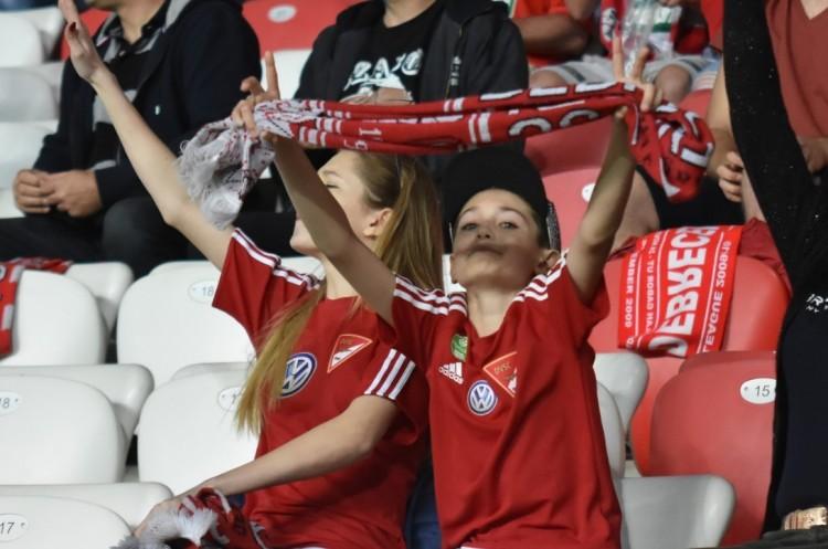 Debreceni fociünnep: nem bírt egymással a Loki és a Fradi